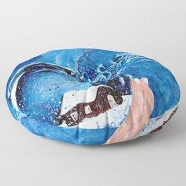 The Snow Globe Floor Pillow