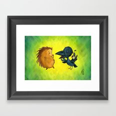Friendship Pt. 2 Framed Art Print