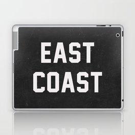 East Coast - black Laptop & iPad Skin