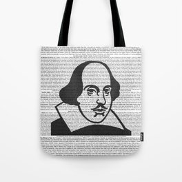 Words of Shakespeare Tote Bag