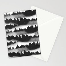Don't Get Lost in Mist Stationery Cards