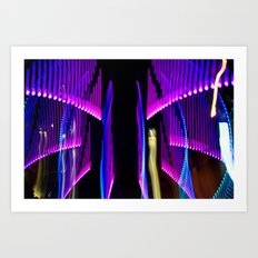Experiments in Light Abstraction 2 Art Print