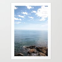 cape cod Art Prints featuring Cape Cod by lhcreative