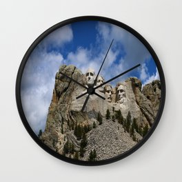 Mount Rushmore National Memorial Wall Clock