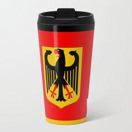 Germany map Travel Mug