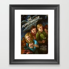 The PuppetMaster Framed Art Print