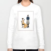 pride and prejudice Long Sleeve T-shirts featuring Pride and Prejudice by wolfanita