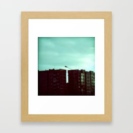 UNmodern architecture Framed Art Print