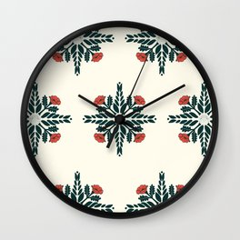 Botany Ocho Wall Clock