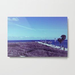 South Pointe Metal Print