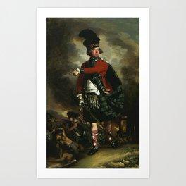 John Singleton Copley - Portrait of Hugh Montgomerie Art Print