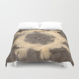 The circle of life Duvet Cover