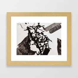 O & M series Framed Art Print