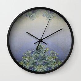 """Horizon of lavender"" Wall Clock"