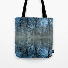 Deep Cool Blue Tote Bag
