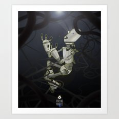 Praying to the Lord of the Universe Art Print