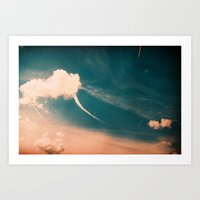 Wonderland Skies Art Print