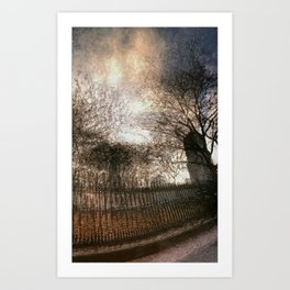 Vessey Street Sunset Art Print