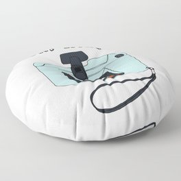 Oh, snap! Polaroid Camera Floor Pillow