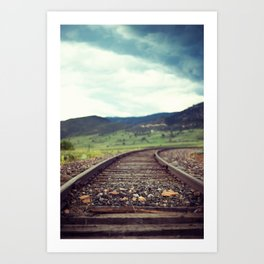 Travel Alone Art Print