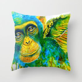 Fly My Pretty Throw Pillow