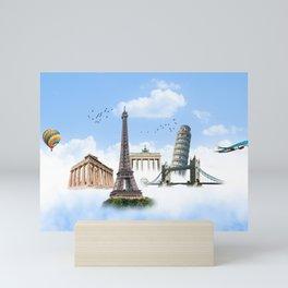 European Traveler Mini Art Print