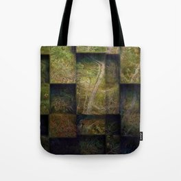 Forest on boxes Tote Bag