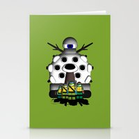 ninja turtles Stationery Cards featuring Turtles by AWOwens