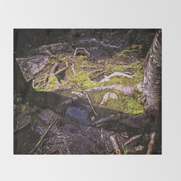 Roots of Love Throw Blanket