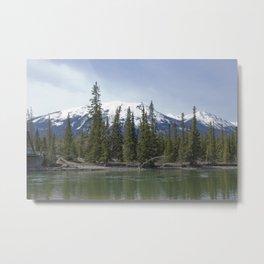 The Serene Mountain Metal Print