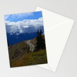 Hurricane Ridge Roadway Stationery Cards