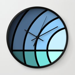 Pensacola Beach Wall Clock