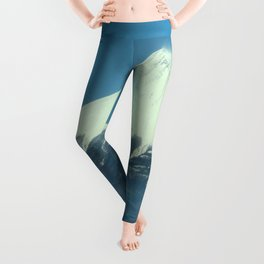 富士山 (Mt. Fuji) Japan Leggings