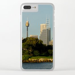 Mrs Macquarie's Chair, Sydney Clear iPhone Case
