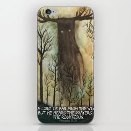 Far From the Wicked iPhone Skin