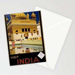 Visit India Stationery Cards