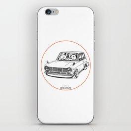 Crazy Car Art 0198 iPhone Skin