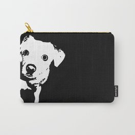 Graphic Dog | Black & White Carry-All Pouch