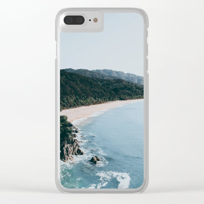 New Zealand III Clear iPhone Case