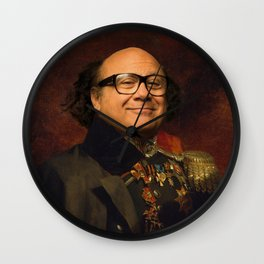 Danny Devito Classical Regal General Painting Wall Clock