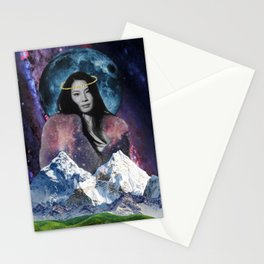 god is a woman Stationery Cards