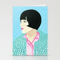 anna Stationery Cards featuring Anna by kate gabrielle