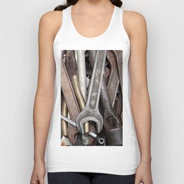old tools Unisex Tank Top