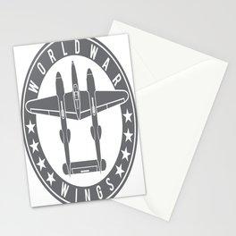 P-38 Lightning Logo  Stationery Cards