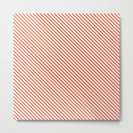 Flame Stripe Metal Print