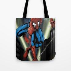 Sharp Spidey Swing Tote Bag