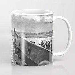 Omaha Beach Landing D Day Coffee Mug