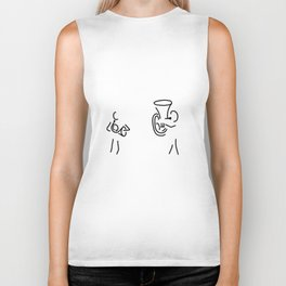 hornist tuba brass player Biker Tank