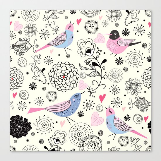 pattern 09 Canvas Print