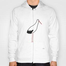 Dorky Stork Hoody